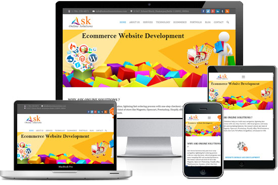 Ask Online Solutions Responsive Web Design