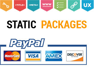 Static Packages Ask Online Solutions