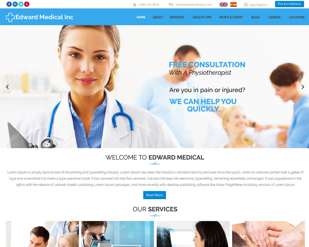 Ask Online Solutions Portfolio Edward Medical