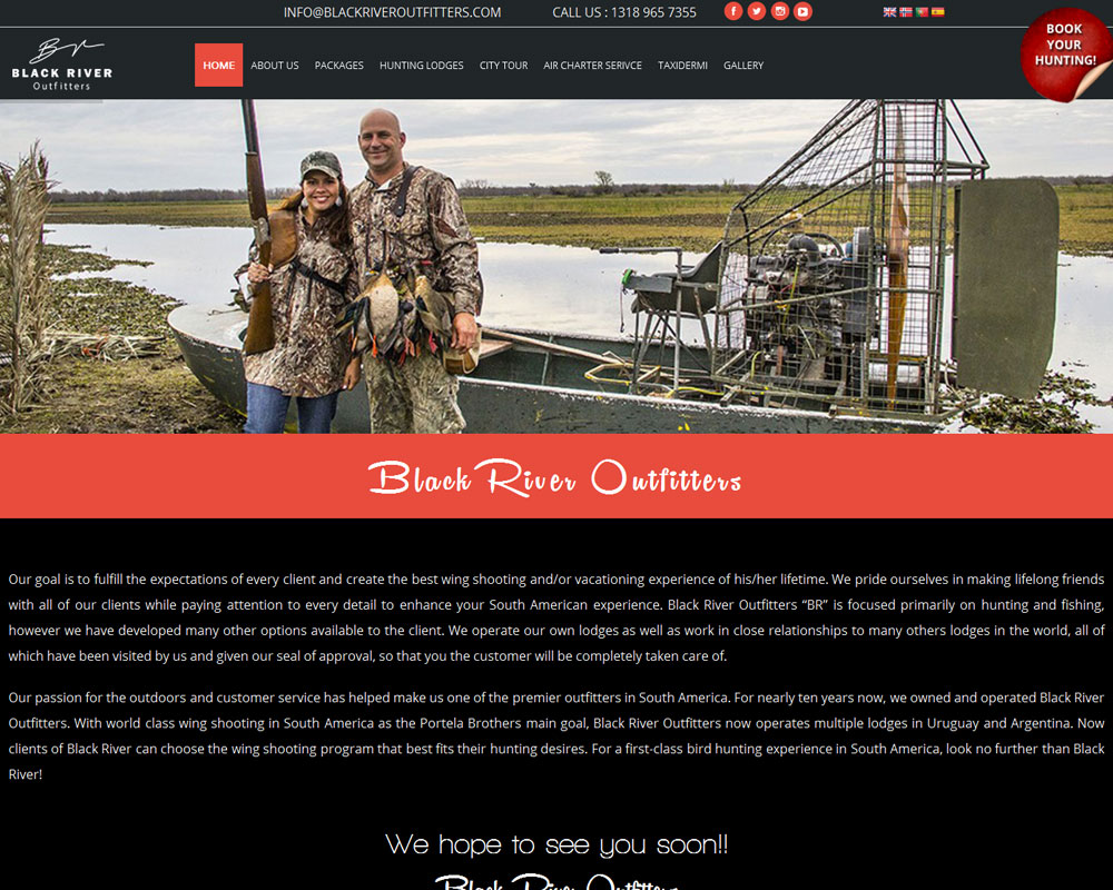 Ask Online Solutions Portfolio Black River Outfitters