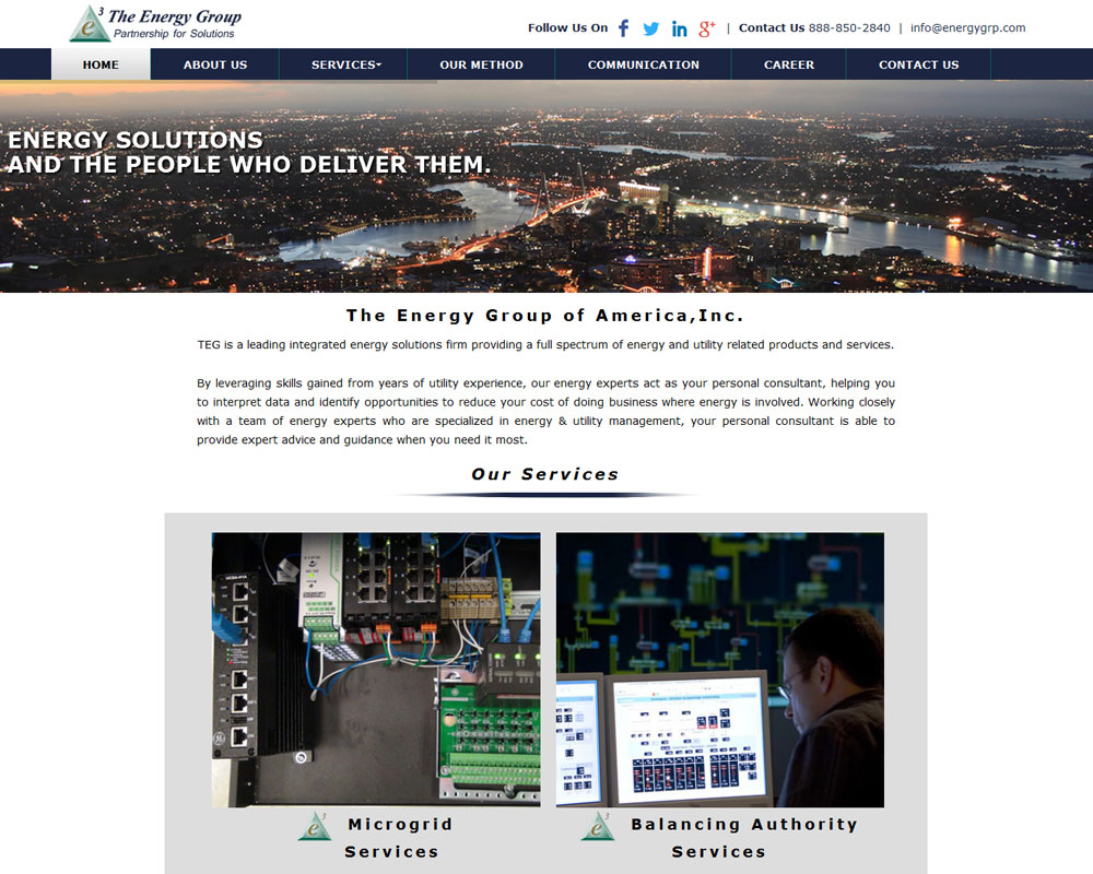 Ask Online Solutions Portfolio The Energy Group
