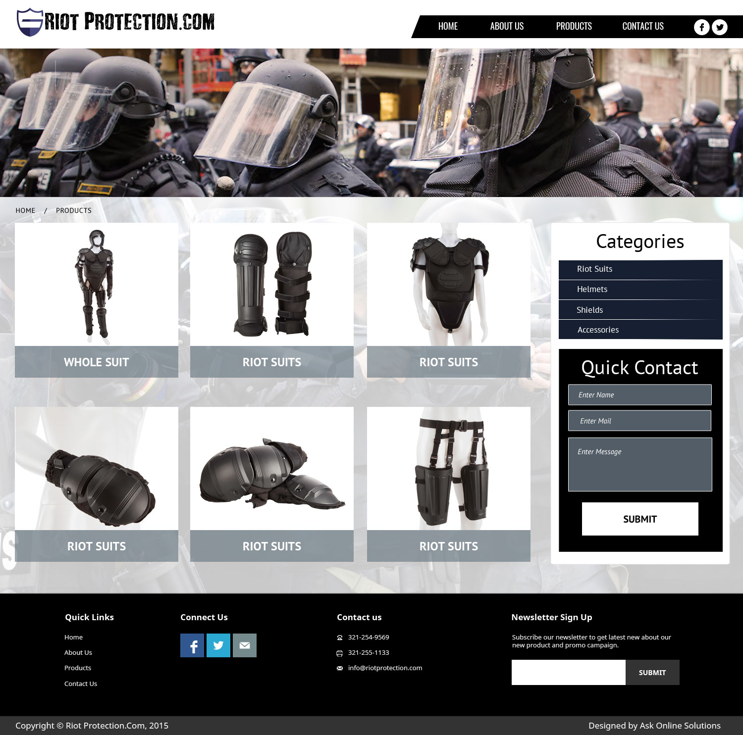 Ask Online Solutions Portfolio RIOT Products